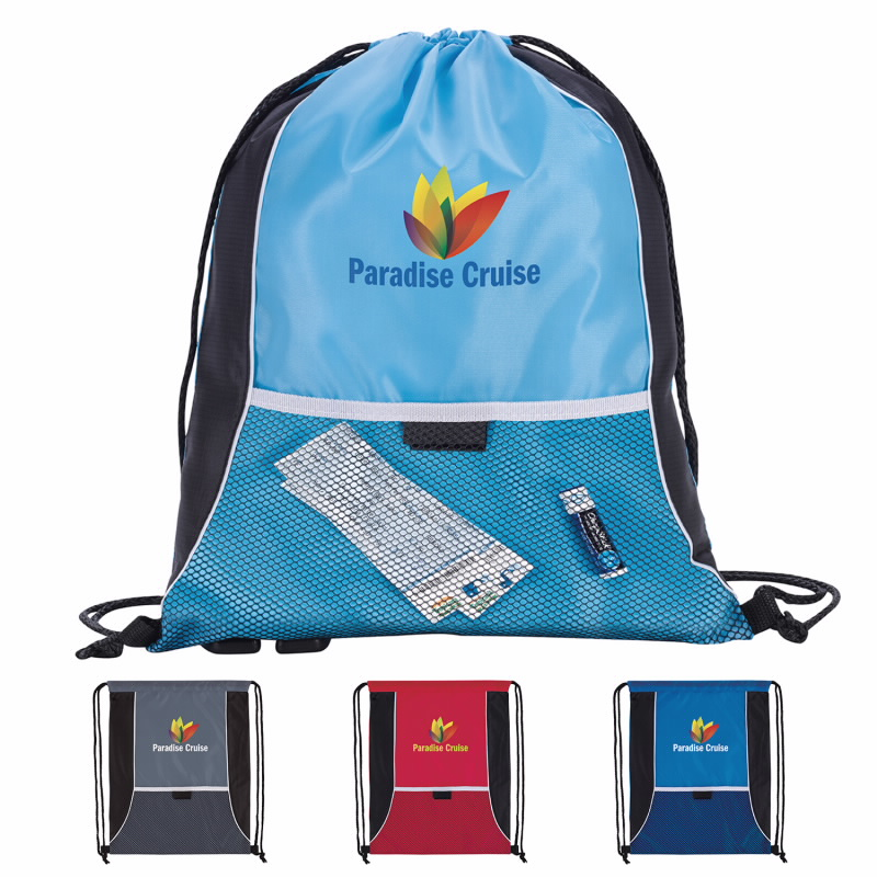 Good Value® 15877 Center Lane Drawstring Backpack