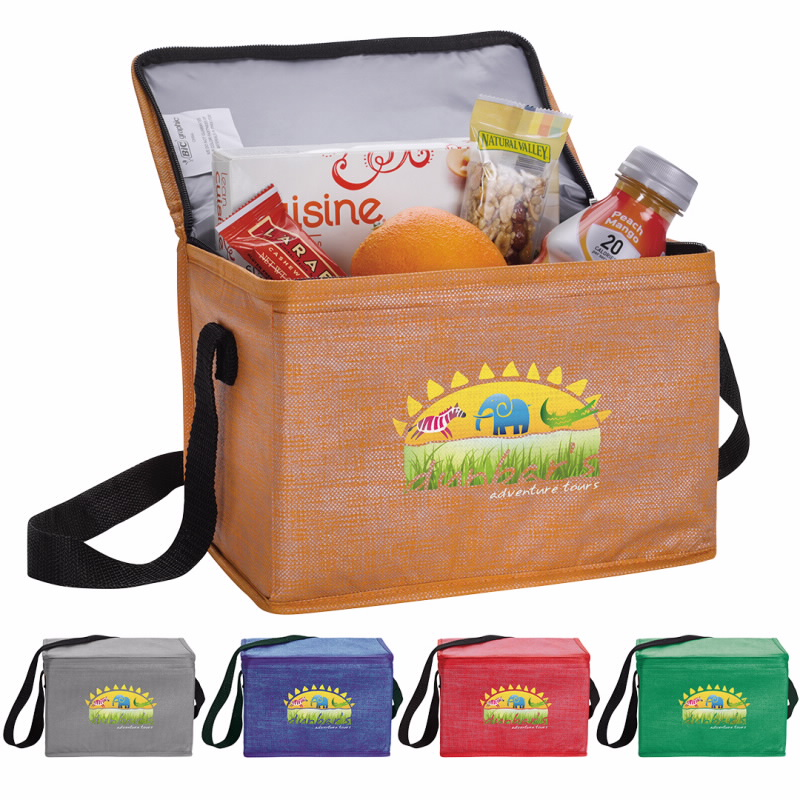 Good Value® 15922 Non-Woven Shimmer Lunch Cooler