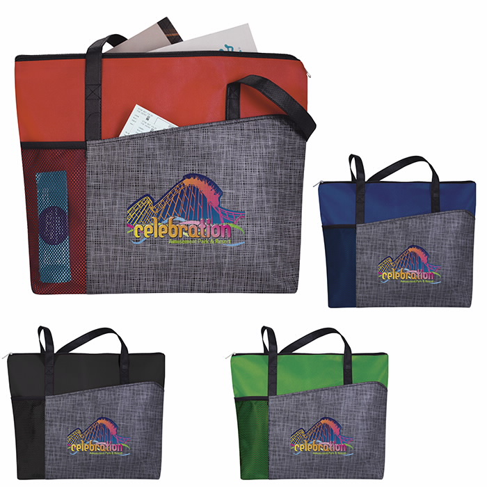 Good Value® 15930 Select Pattern Non-Woven Tote