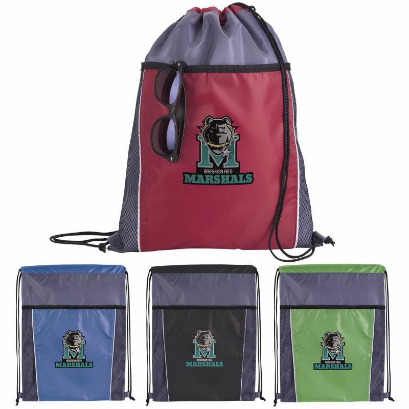 Good Value® 15948 Clean Edge Drawstring Backpack
