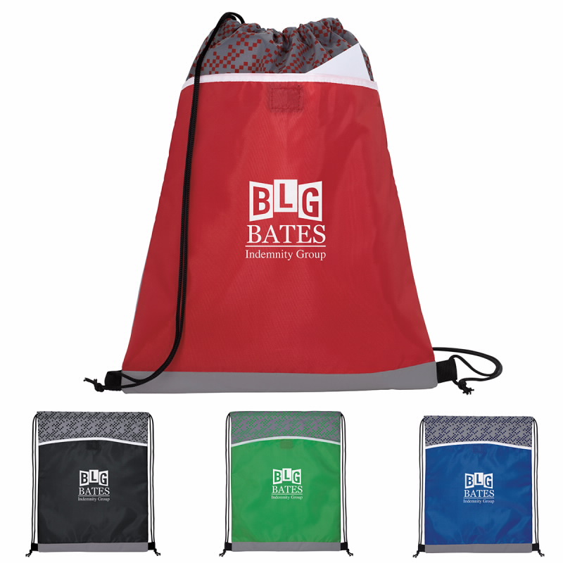 Good Value® 15989 Connect the Dots Drawstring Backpack