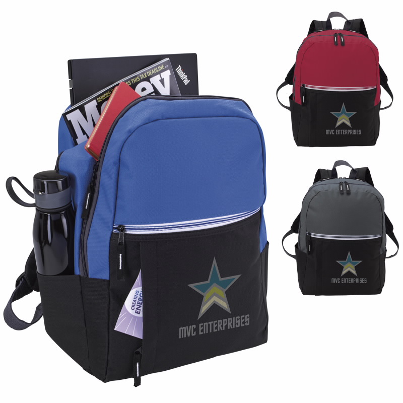 Good Value® 16068 Zip-It-Up Computer Backpack