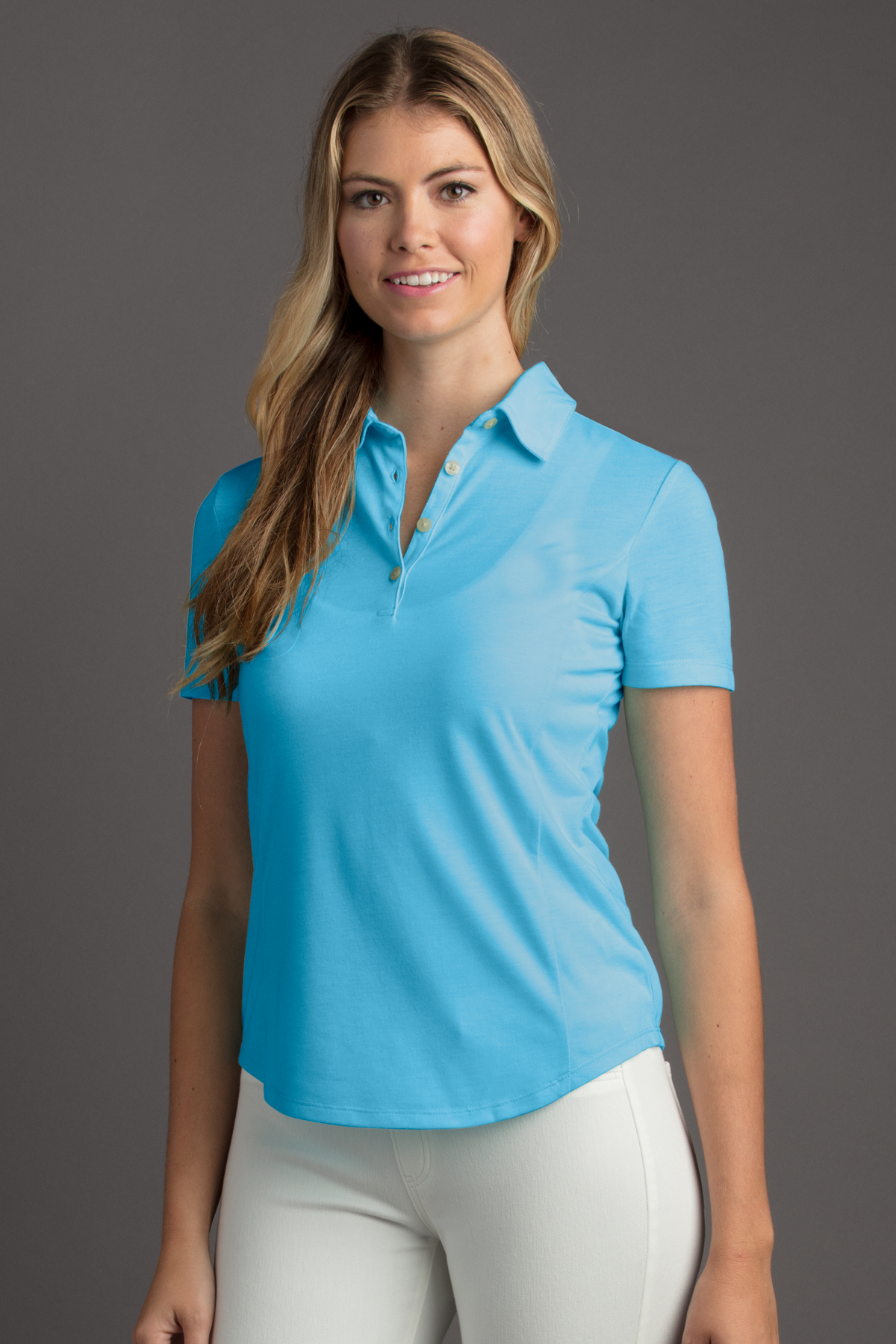 Greg Norman WNS8K466 - Women's Play Dry Foreward Series ...