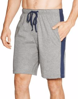 Hanes 01005 - Men's Logo Waistband Striped Shorts 2-...