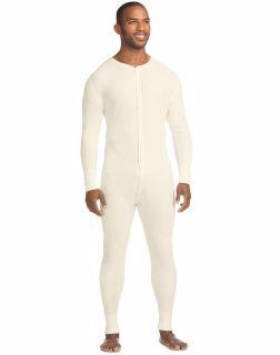 Hanes 14630 - X-Temp™ Men's Organic Cotton Thermal Union Suit 3X-4X