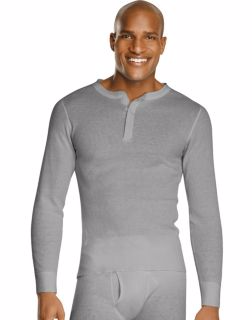 Hanes 25440 - Men's X-Temp™ Thermal Henley