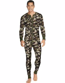 Hanes 25448 - Men's X-Temp™ Camo Thermal Union ...