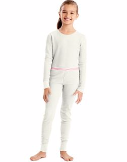 Hanes 25454 - Girls'X-Temp™ Thermal Set
