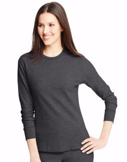 Hanes 25455 Women's X-Temp™ Thermal Crew