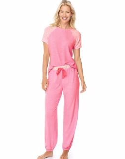 Hanes 28994 - Ultimate Women's Raglan Tee Sleep Set