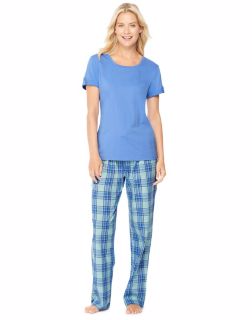 Hanes 28996 - Ultimate Women's Scoopneck Tee/Pants Sleep ...
