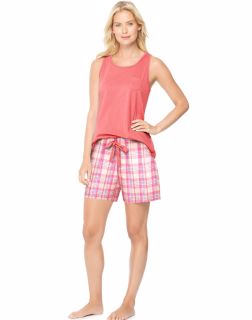 Hanes 28997 - Ultimate Women's Scoopneck Tank/Shorts ...
