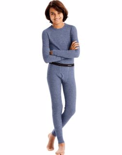 Hanes 34500 - X-Temp™ Boys'Organic Cotton Thermal ...