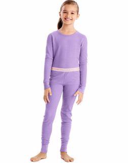 Hanes 34600 - X-Temp™ Girls'Organic Cotton Thermal Set