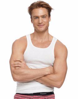 Hanes 372P5B - Men's TAGLESS® ComfortSoft® White ...