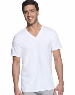 Hanes 7880W5 - Classic Big Mens V-Neck T-Shirt P5