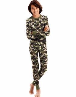 Hanes Boy's 25450 - X-Temp™ Camo Thermal Set