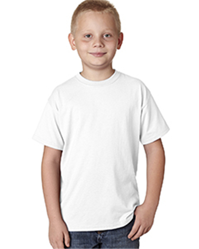 Hanes H420Y - Youth 4.5 oz. X-Temp Performance T-Shirt
