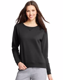 Hanes O4633 - ComfortSoft EcoSmart® Women's Crewneck ...