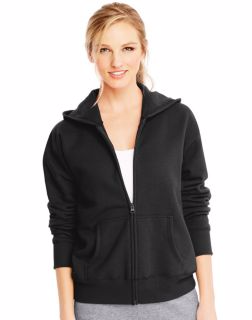 Hanes O4637 - ComfortSoft EcoSmart® Women's Full-Zip Hoodie Sweatshirt
