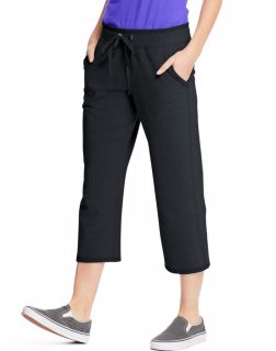 Hanes O4679 - Women's French Terry Pocket Capri