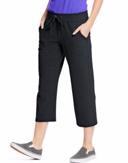 Hanes O4679 - Women's French Terry Pocket Capri