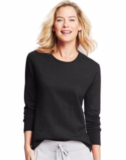 Hanes O9133 - Women's Long-Sleeve Crewneck T-Shirt