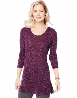 Hanes O9300 - Women's Lightweight Space-Dye Vented Tunic