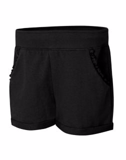 Hanes OK263 - Girls'Ruffle Pocket Short