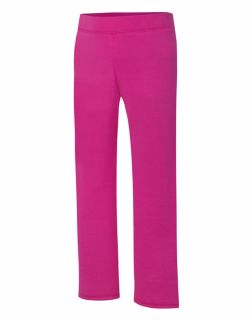 Hanes OK282 - ComfortSoft EcoSmart Girls' Open Leg Sweatpants