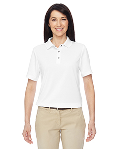 Harriton M345W - Ladies' Advantage IL Snap Placket Performance ...