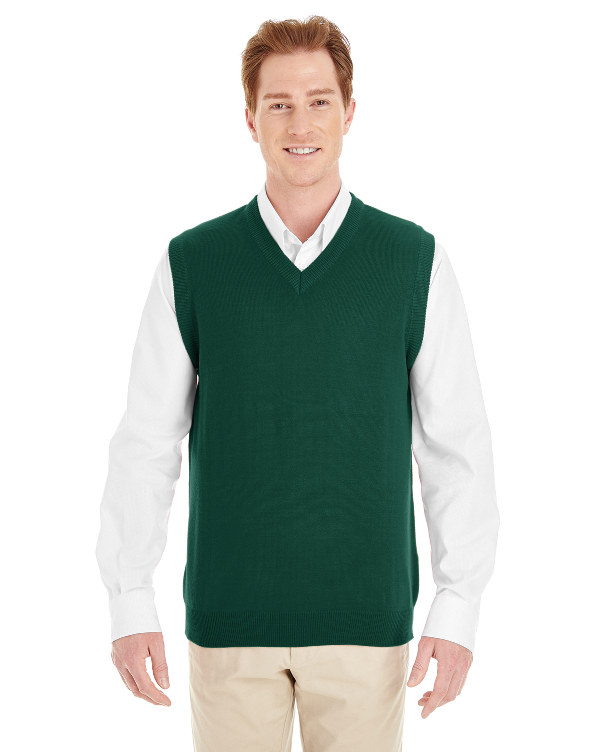 Harriton M415W - Ladies' Pilbloc™ V-Neck Sweater Vest $12.49 - Sweater