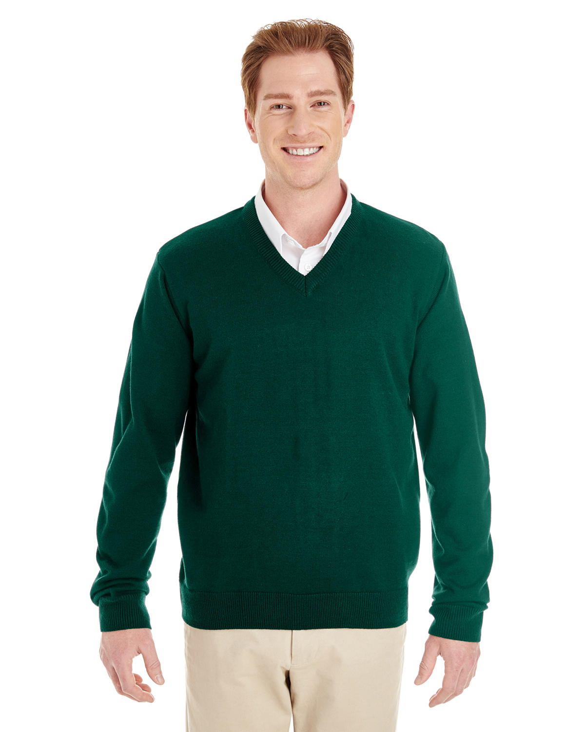 Harriton M420 - Men's Pilbloc™ V-Neck Sweater