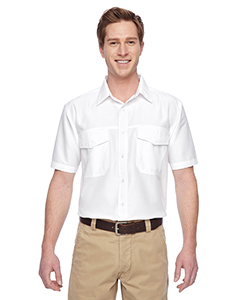 Harriton M580 - Men's Key West Short-Sleeve Performance ...
