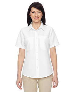 Harriton M580W - Ladies' Key West Short-Sleeve Performance Staff Shirt