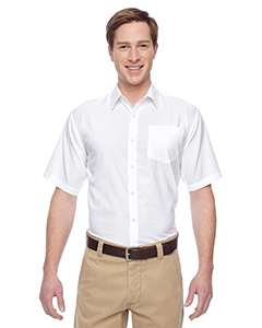 Harriton M610S - Men's Paradise Short-Sleeve Performance Shirt