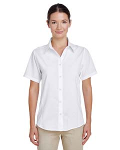 Harriton M610SW - Ladies' Paradise Short Sleeve Performance Shirt