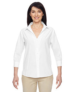 Harriton M610W - Ladies' Paradise Three-Quarter Sleeve Performance Shirt