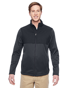 Harriton M745 - Men's Task Performance Fleece Full-Zip ...