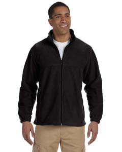 Harriton M990T - Men's Tall 8oz Full Zip Fleece