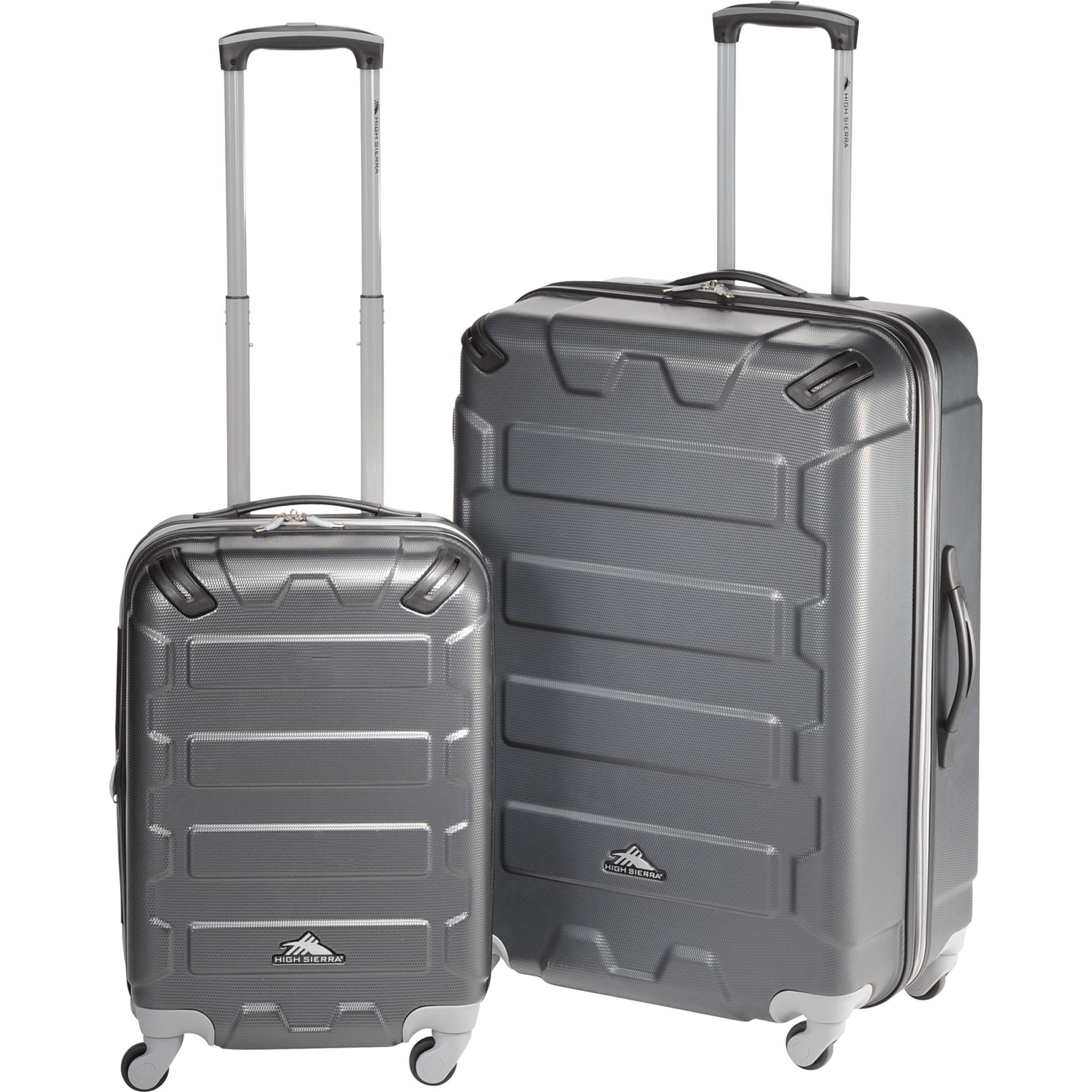 High Sierra 8053-02 - 2pc Hardside Luggage Set