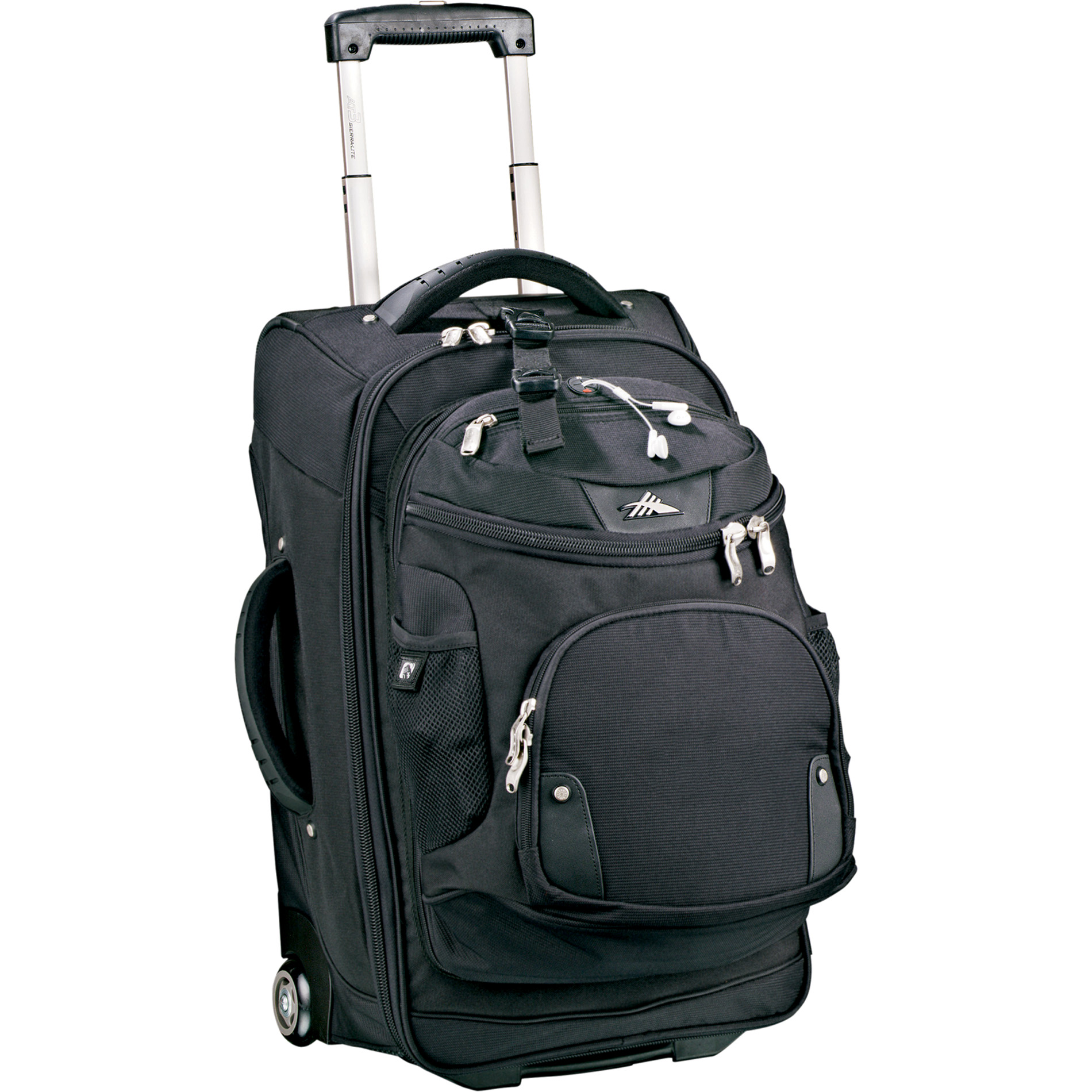 High Sierra 8050-33 - 22 Wheeled Carry-On with DayPack