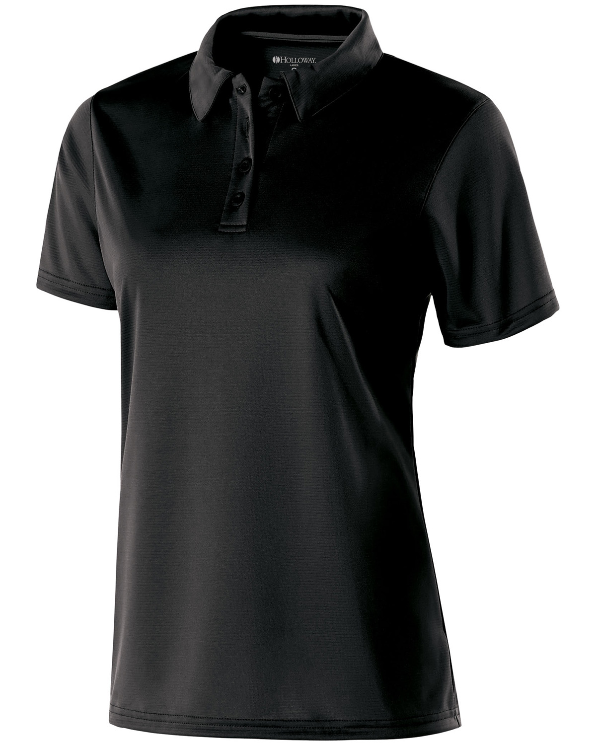 Holloway 222319 - Ladies Polyester Textured Stripe Shift Polo