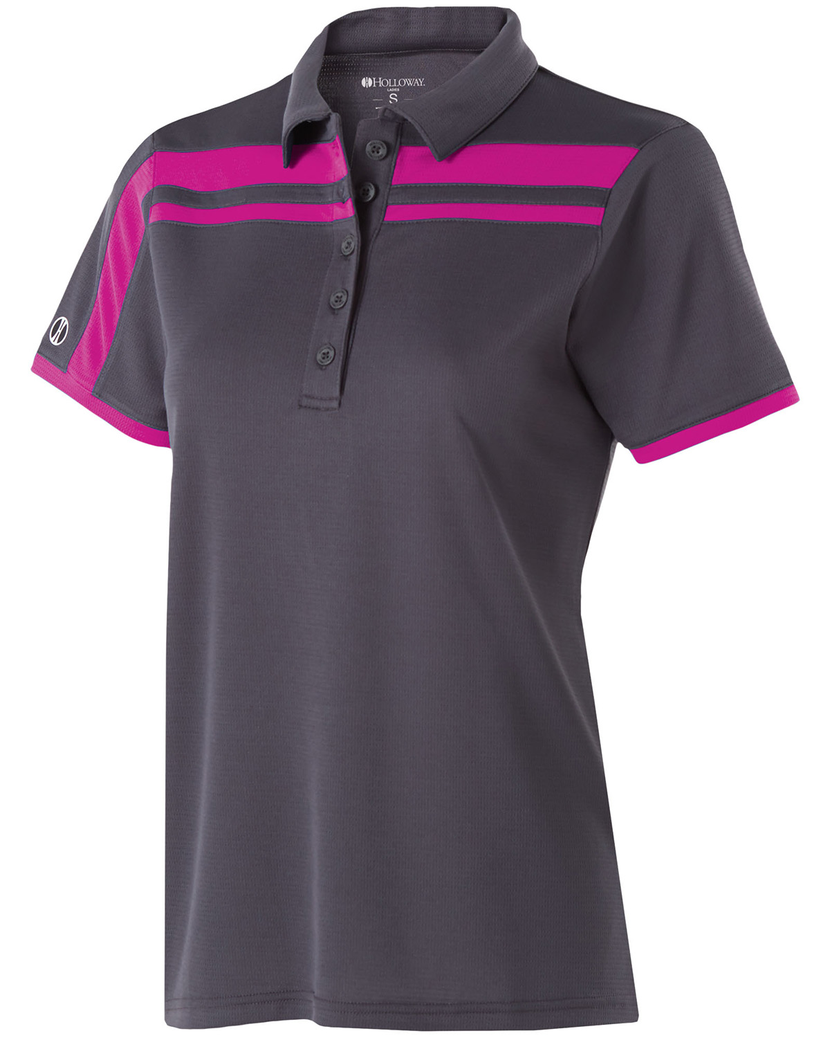 Holloway 222387 - Ladies' Polyester Closed-Hole Charge Polo