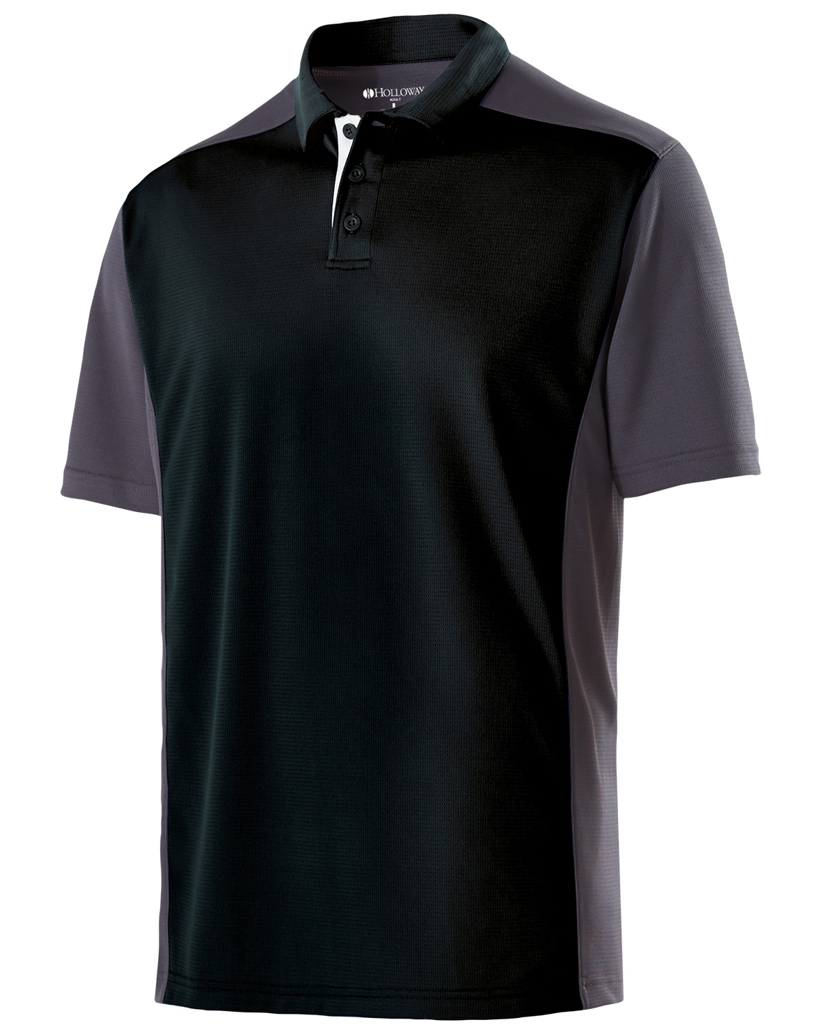 Holloway 222486 - Adult Polyester Closed-Hole Division Polo