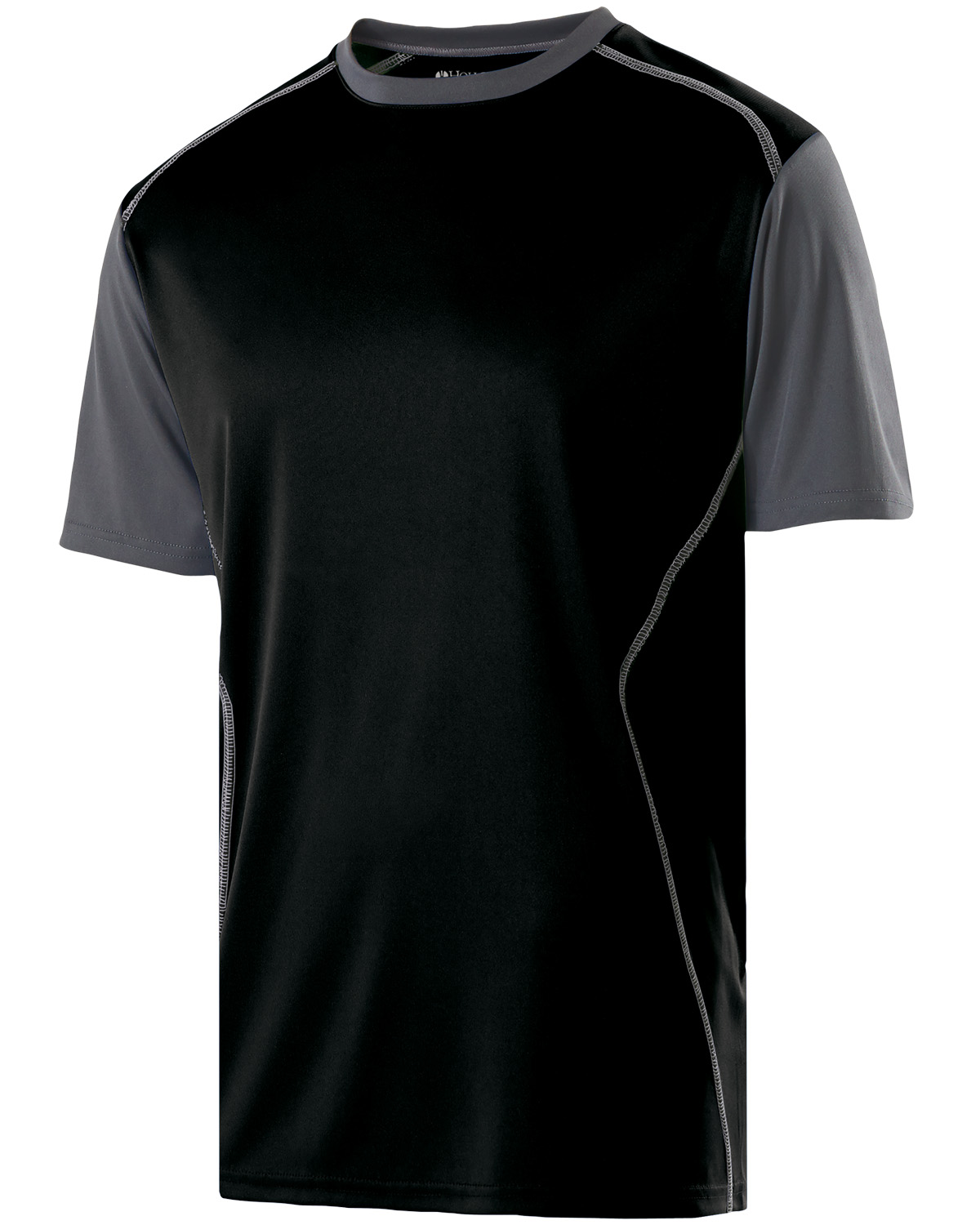 Holloway 222501 - Adult Polyester Short Sleeve Piston ...