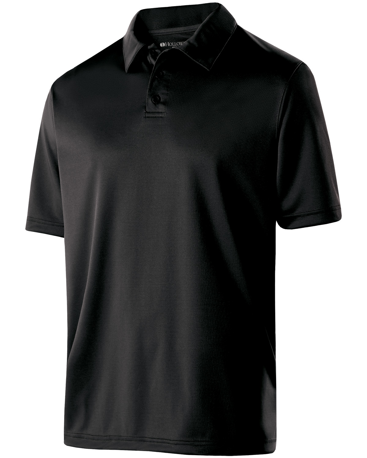 Holloway 222519 - Adult Polyester Textured Stripe Shift Polo