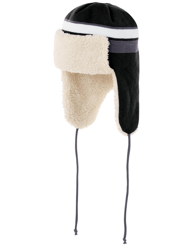 Holloway 223823 - Acrylic Rib Knit Comeback Trapper Beanie