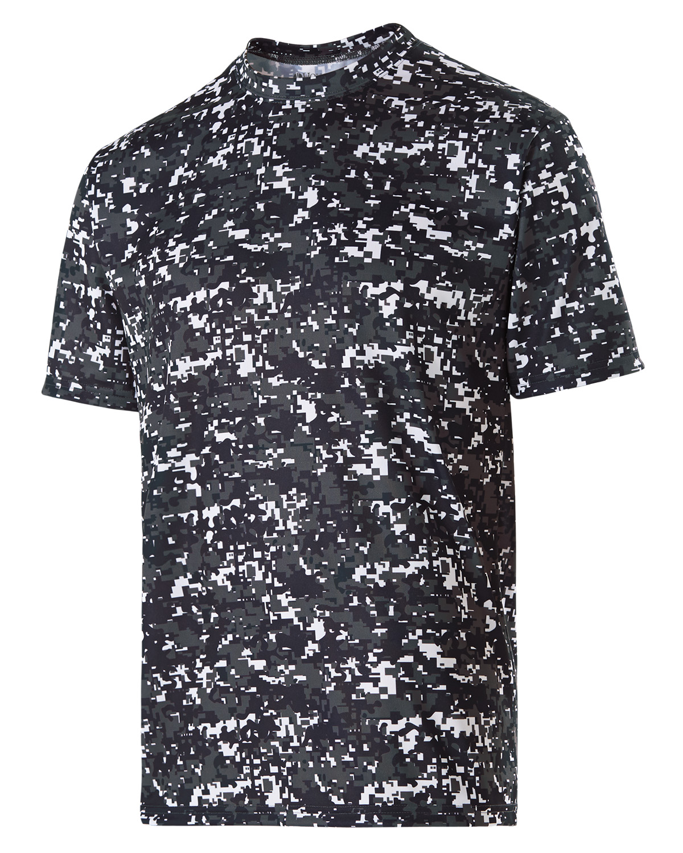 Holloway 228101 - Adult Polyester Short Sleeve Erupt ...