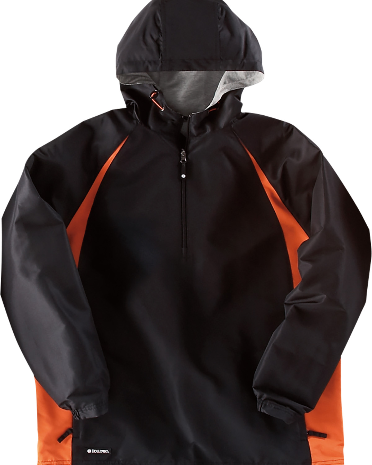 Holloway 229064 - Adult Polyester 1/4 Zip Hooded Hurricane Jacket